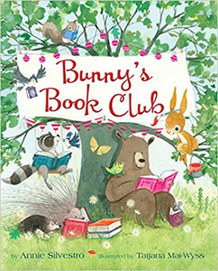 Bunny's Book Club by Anne Silvestro