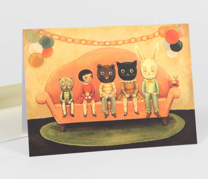 Costume Party by Emily Winfield Martin - Greeting Card