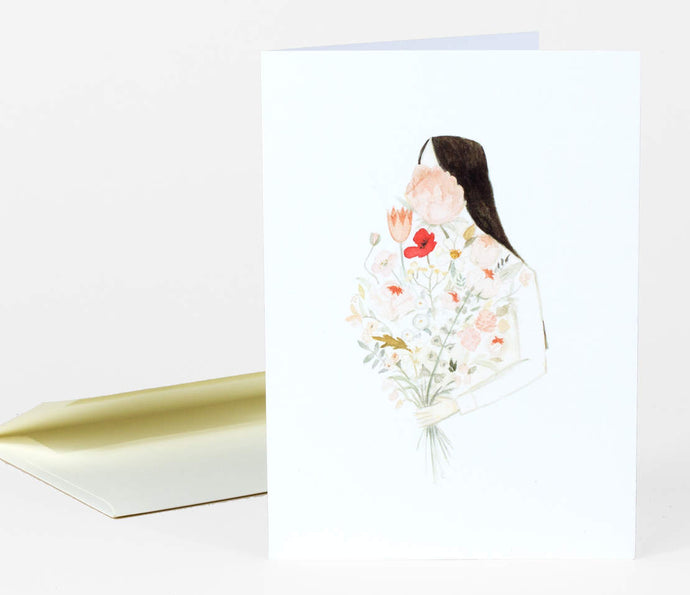 Floraphilia by Emily Winfield Martin - Greeting Card