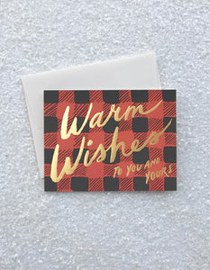 Buffalo Plaid - Greeting Card