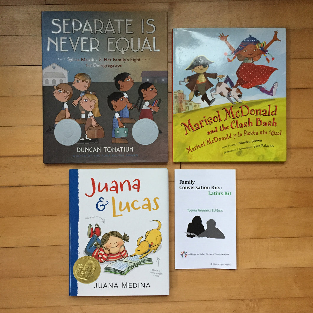 Family Conversation Kits: Latinx Kit: Young Readers Edition