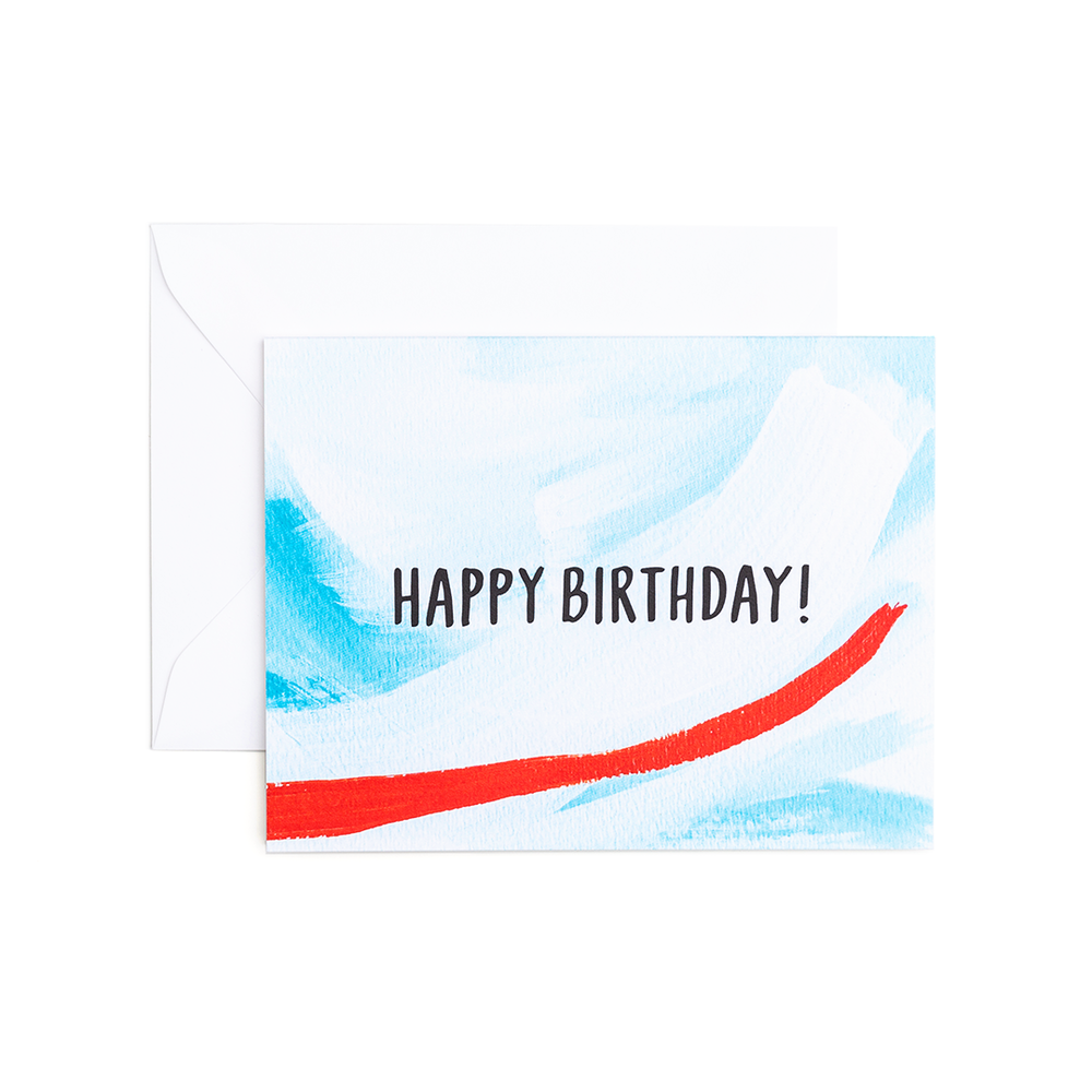 Rian Birthday - Greeting Card by Evergreen Summer