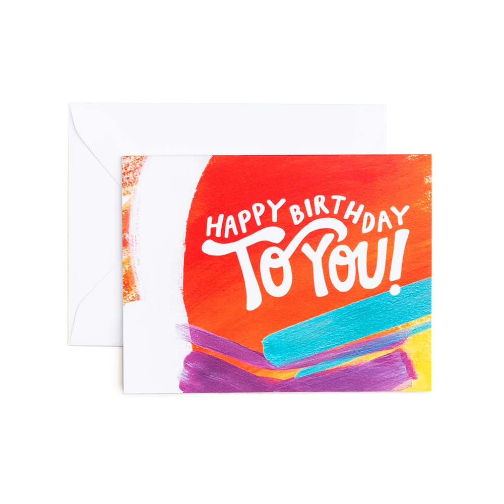 Sam Birthday - Greeting Card by Evergreen Summer