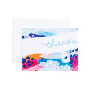 Stephanie Thank You - Greeting Card by Evergreen Summer