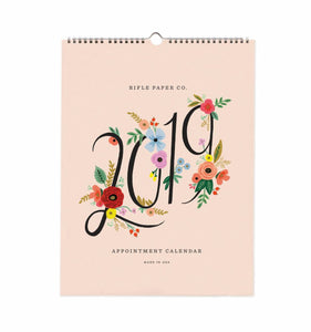 2019 Bouquet Appointment Calendar - Rifle Paper Co.