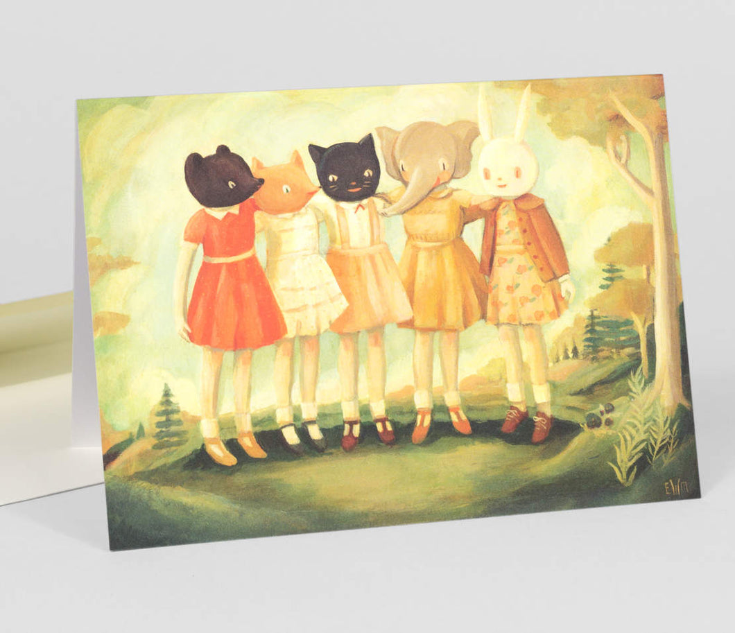 Bess, Maude, Frances, Matilda, & Maryanne - Greeting Card