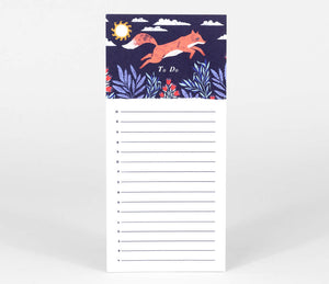 Fox by Papio Press - To Do List Pad