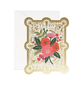 Vintage Valentine - Greeting Card