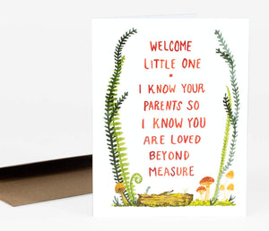 I Know Your Parents - Greeting Card