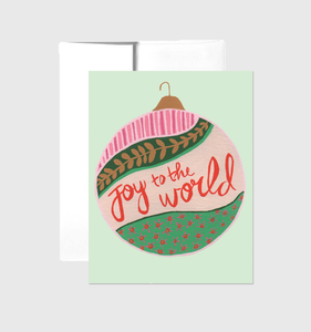 Joy to the World - Greeting Card