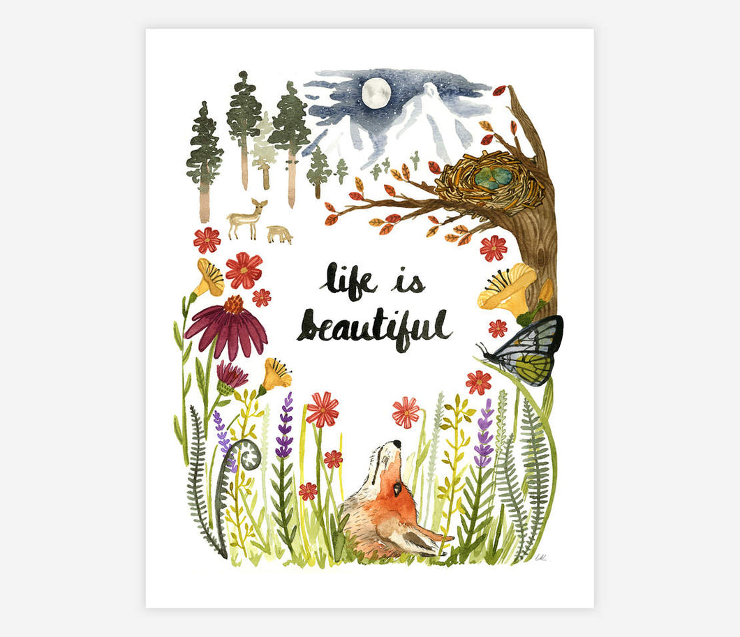Life is Beautiful - Archival Print