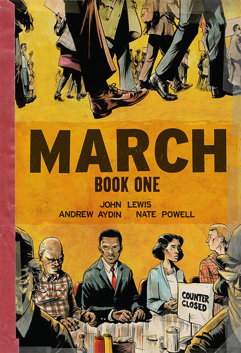 March: Book One by John Lewis, Andrew Aydin, Nate Powell