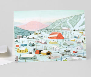 Morning in Slapsefjell by Bjorn R. Lie - Greeting Card