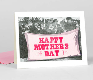 Mother's Day Suffragettes - Greeting Card by Steam Whistle Letterpress