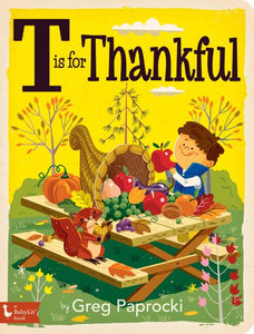 T is for Thankful by Greg Paprocki