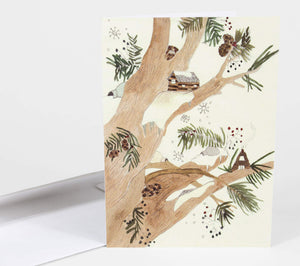 Winter Card - Greeting Card