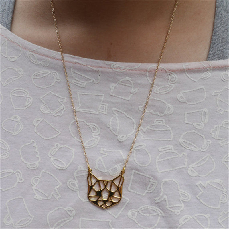 Regal Cat Necklace (Keep Your Cat Close To Your Heart) - AllstarProducts