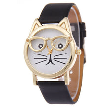 Cute Cat watch with glasses *TOP SELLER* - AllstarProducts