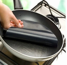 Non-stick Round pan cooking sheet (No clean up needed) - AllstarProducts