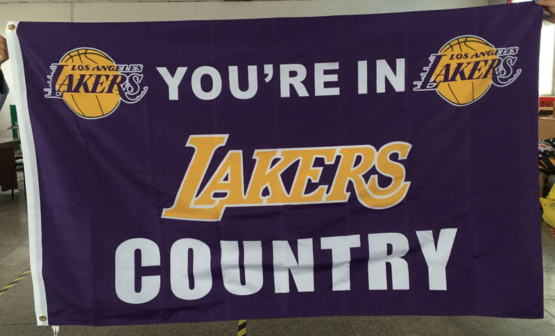 You're In Lakers Country Flag (Show Your Lakers Pride) - AllstarProducts
