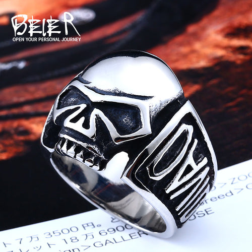 Biker Skull Ring - AllstarProducts