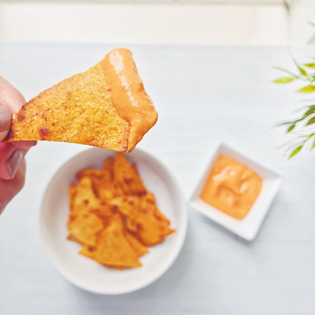Healthy Snack Idea: How to Make Healthy Chips with only 2 Ingredients