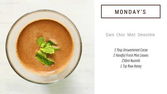 Dark Choc Mint Smoothie
