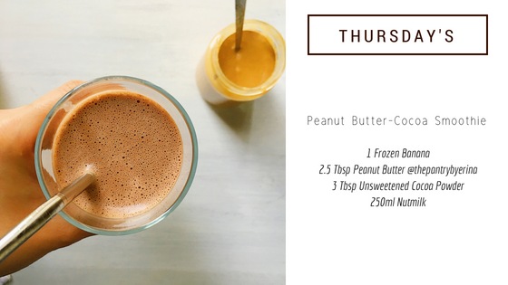 5-Minute Smoothie Recipe #4: Peanut Butter-Cocoa Smoothie