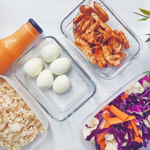 5 practical ways to stay healthy and fit: batch cooking