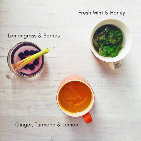 how to detox: caffeine free homemade tea