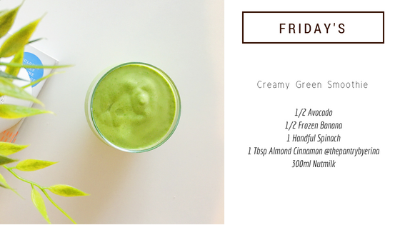 5-Minute Smoothie Recipe #5: Creamy Green Smoothie