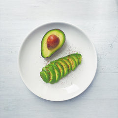 healthy lunch: avocados
