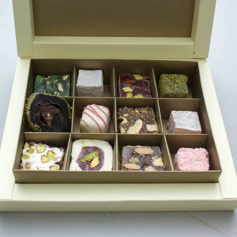 Turkish Delights 12 Pieces Box
