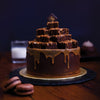 Salted Caramel Brownie Cake – Julie 4.5LBS