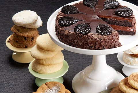 Classic Cake and One Dozen Assorted Cookies - TCS Sentiments Express
