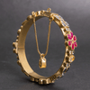 Gold Plated Farshi Openable Kara - TCS Sentiments Express
