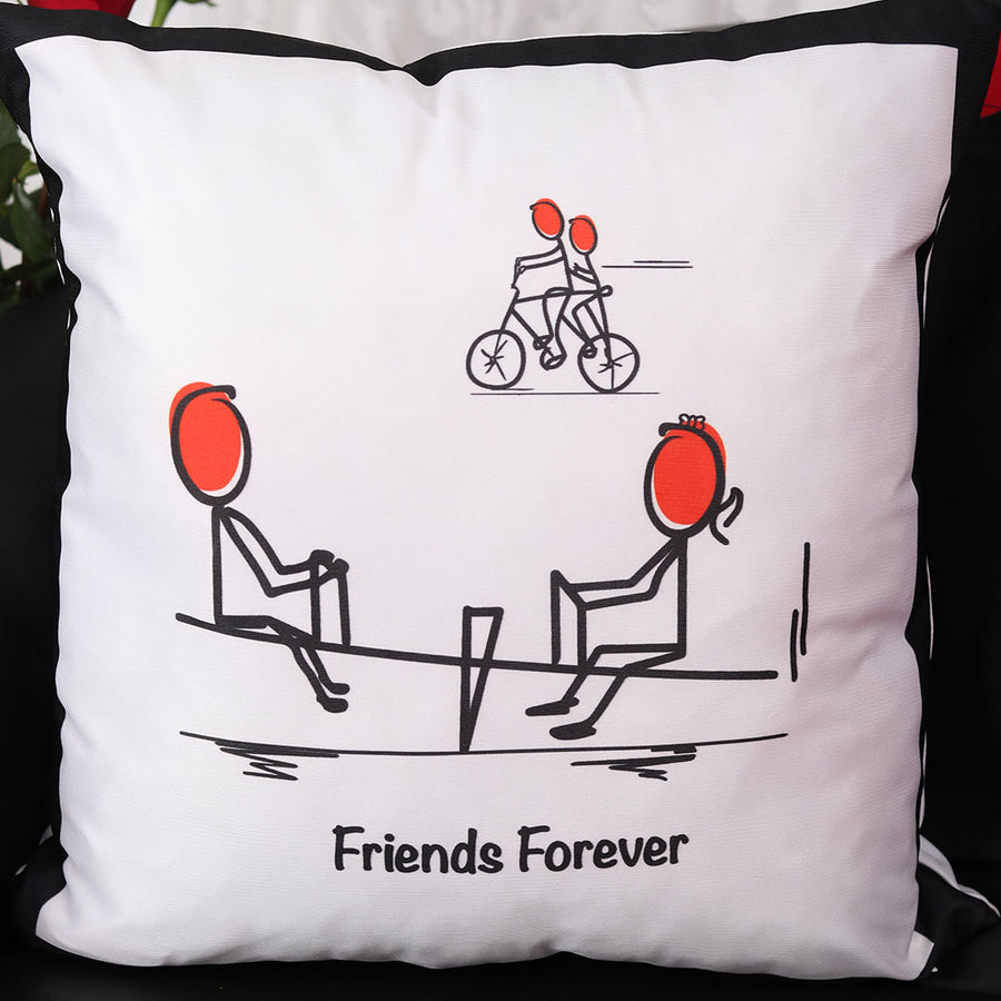 Friends Forever Cushion - TCS Sentiments Express