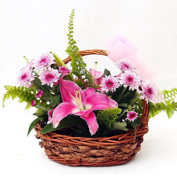 Dainty Basket By Floristapk - TCS Sentiments Express