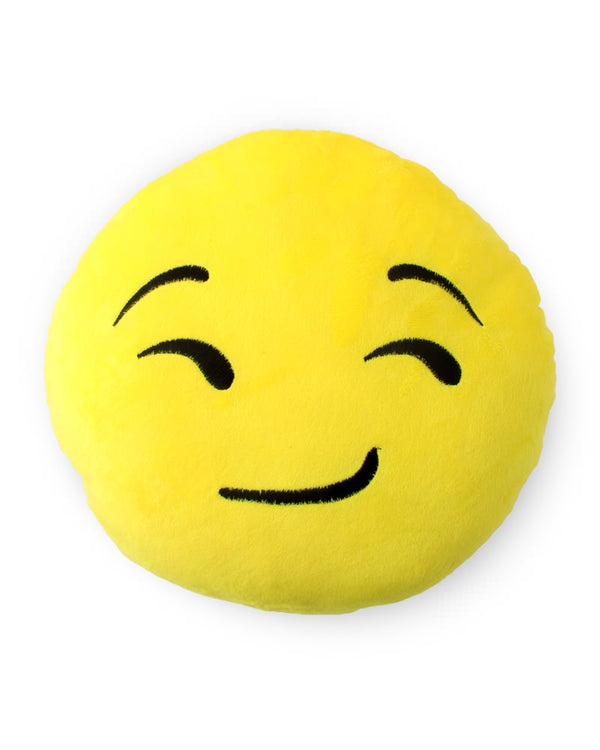 Smirking Face Emoji Cushion - Sentiments Express