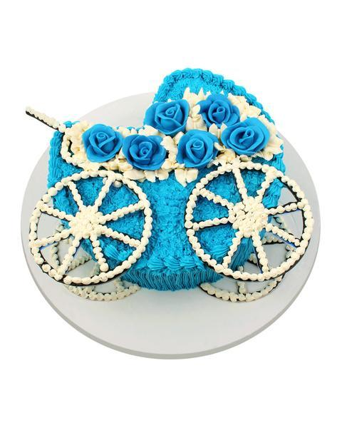 Little Prince Baby Carriage Cake 3LBS - TCS Sentiments Express