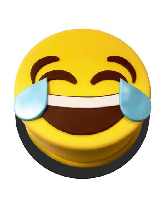 Crying Laughing Emoji Cake 3lbs - TCS Sentiments Express