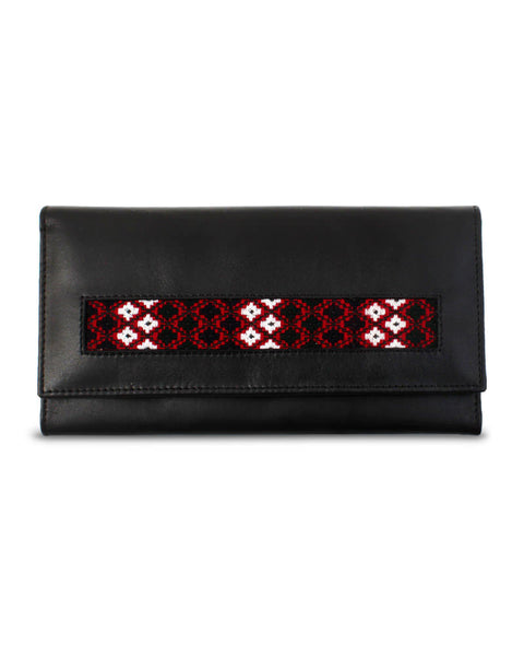 Black Leather Wallet for Her - TCS Sentiments Express