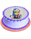 Minion Captain America Cake 3lb - Sentiments Express