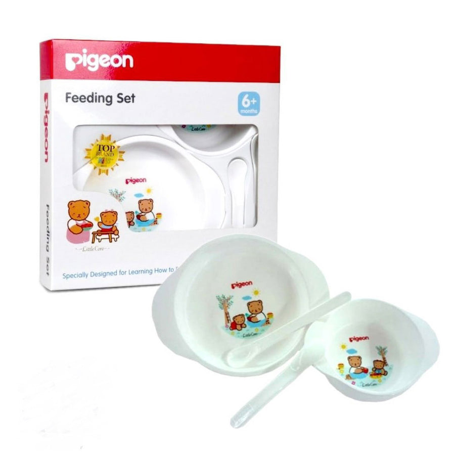 Pigeon Baby Mini Feeding Set 4 Pcs