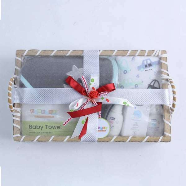 Unisex Gift Basket Rectangle - TCS Sentiments Express