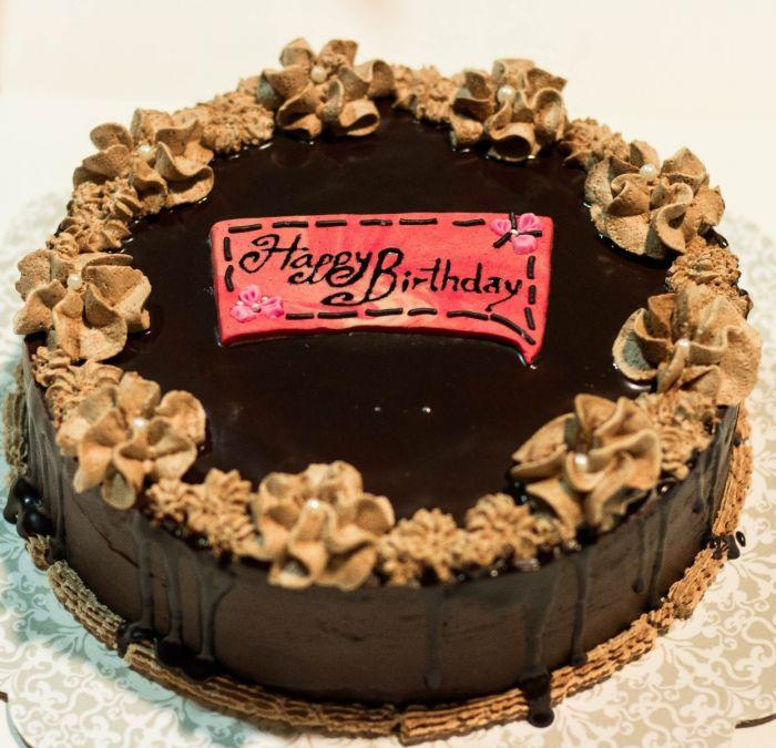 Chocolate Cake - TCS Sentiments Express