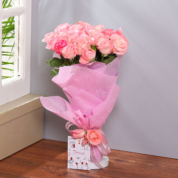 Blushing Blooms - TCS Sentiments Express