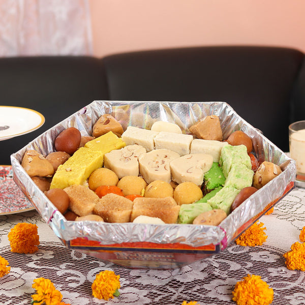 Mixed Mithai Tokra 3 to 4 KG - TCS Sentiments Express