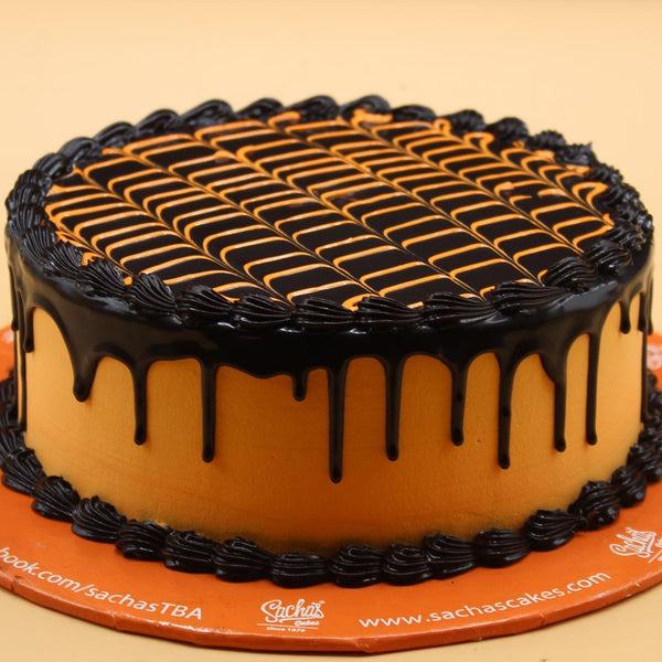 Chocolate Orange Cake - TCS Sentiments Express