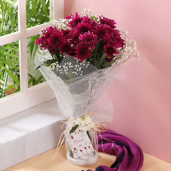 Passionate Purple Bouquet - TCS Sentiments Express